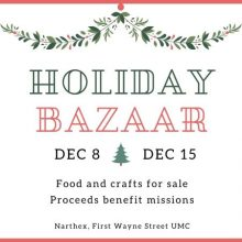 Fort Wayne holiday bazaar
